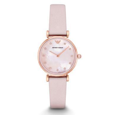 【支持購物卡】阿瑪尼(Armani)母貝表盤 時尚潮流女手表 休閑女士石英腕表 AR1958