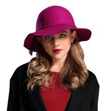 FORMIA芳美亚 女士秋冬季羊毛羊绒礼帽 大时装帽保暖SM6951013
