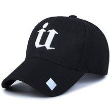 DAIYI戴奕帽子时?#24515;信?#21516;款U字样四季棒球帽鸭舌帽