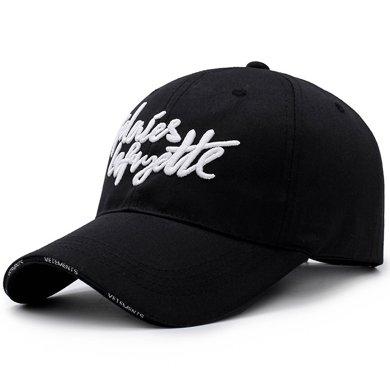 DAIYI戴奕帽子刺绣四季棒球帽时尚遮阳百搭鸭舌帽