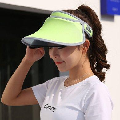 DAIYI戴奕帽子 夏季防曬韓版時尚遮陽帽 含黑色鏡片