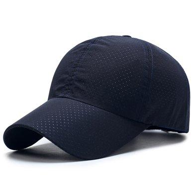 DAIYI戴奕帽子 【专柜同款】男款纯色棒球帽 速干弹力透气运动户外棒球帽