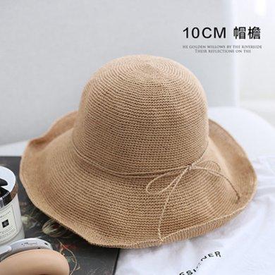 DAIYI戴奕帽子 【專柜同款】純手工鉤織纖維遮陽盆帽