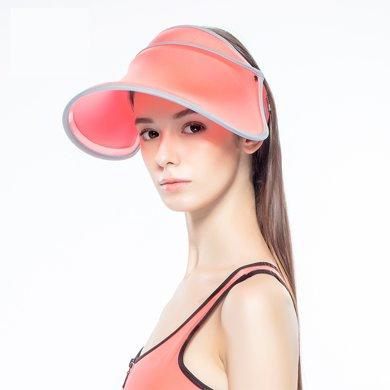臺灣后益hoii范冰冰同款伸縮遮陽帽夏季防曬帽-經典伸縮帽[可調節]