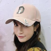 DAIYI戴奕 百搭情侣款带钻纯色棒球帽