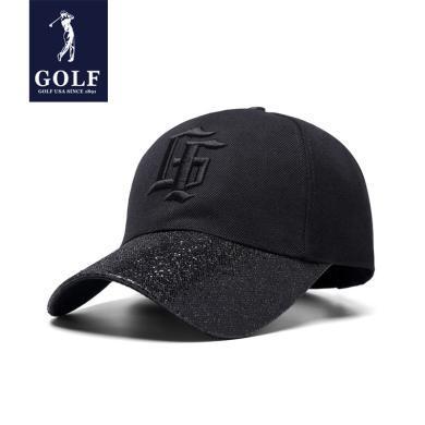 GOLF/高爾夫新品男女同款個性G棒球帽全封帽子可調節遮陽帽戶外出游鴨舌帽子 X-M801959