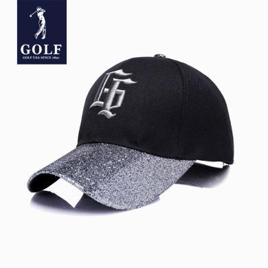 GOLF/高尔夫新品男女同款个性G棒球帽全封帽子可调节遮阳帽户外出游鸭舌帽子 XX-M801959