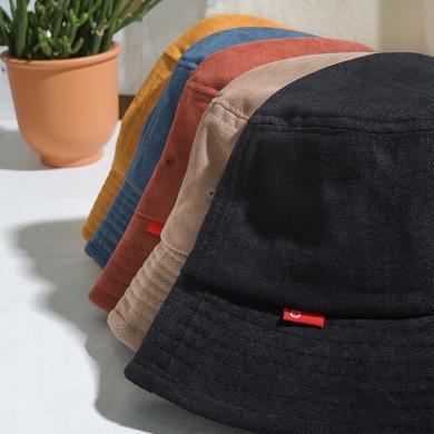 楊同學帽子女韓版潮日系夏季薄款遮陽帽防曬太陽帽網紅款雙面漁夫帽女士