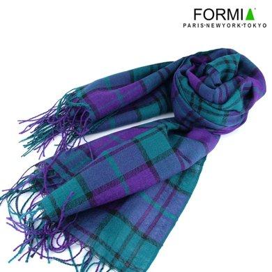 Formia芳美亞男款圍巾時尚保暖圍巾