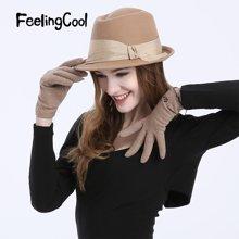 飞兰蔻纯羊毛呢帽冬帽女帽子冬天女爵士帽绅士帽