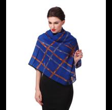莎莎纯羊毛大方巾时尚围巾空调披肩丝巾礼品