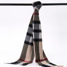 POSH珀诗 澳大利亚高端经典围巾羊毛 灰驼色(1条)