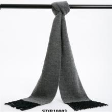 POSH珀诗 澳大利亚高端经典围巾双面羊毛 银河灰(1条)