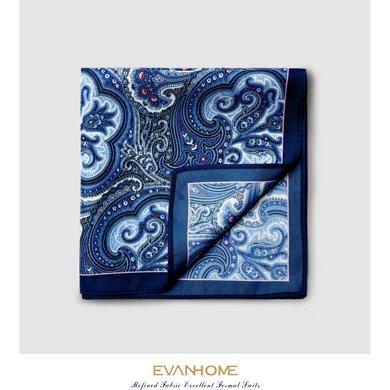 艾梵之家 男士西服口袋巾古典花紋小方巾韓版西裝男手帕巾SPY006