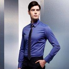 Evanhome/艾梵之家 休闲韩版窄领带男 5cm商务正装领带灰底白条纹L5055