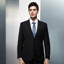 Evanhome/艾梵之家 春季新款男士领带商务正装 7cm职业装领带蓝白条斜纹领带L7110