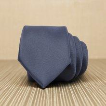 Evanhome/艾梵之家 男士领带商务时尚7cm英伦休闲正装领带纯深灰色L7006