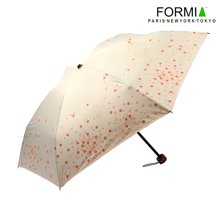 Formia芳美亞時尚清新晴雨傘直手柄折疊傘防曬防紫外線遮陽傘BL6810601  白色