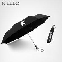 奈洛全自动雨伞男双层折叠加大晴雨两用伞 男士商务抗风户外伞