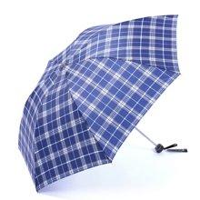 天堂伞 手动伞 加固铝骨经典格子伞 三折叠伞 晴雨伞 遮阳伞 340S 颜色随机
