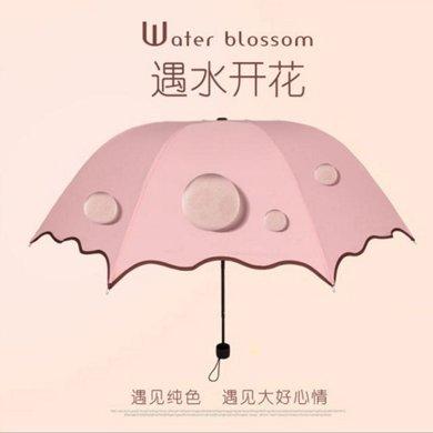 DAIYI戴奕伞 女式创意遇水开花伞 防紫外线防雨两用伞