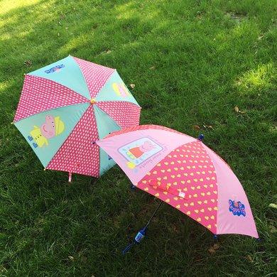 BET.兒童雨傘女兒童幼兒園超輕佩佩豬粉紅豬雨傘寶寶雨具雨傘6082