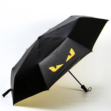 BET。创意小恶魔黑胶伞时尚可爱遮阳太阳伞晴雨伞6001