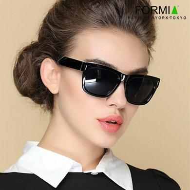 Formia芳美亞新款太陽鏡時尚舒適防紫外線偏光鏡墨鏡WEC6910002 黑色