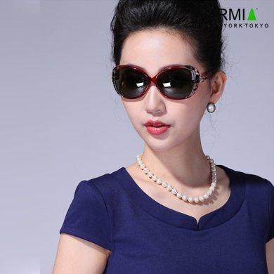 Formia芳美亞新款太陽鏡時尚舒適防紫外線偏光鏡墨鏡 紅色