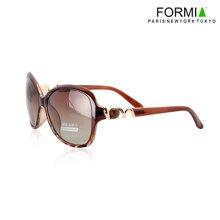 Formia芳美亞新款太陽鏡優雅大氣潮流時尚墨鏡女款太陽鏡 咖色