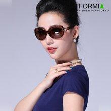 Formia芳美亚新款太阳镜时尚舒适防紫外线偏光镜墨镜 咖色