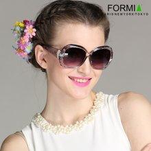 Formia芳美亚新款太阳镜时尚舒适防紫外线偏光镜墨镜 水晶灰