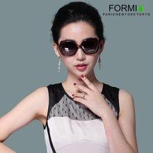 Formia芳美亞新款女款太陽鏡時尚大框防紫外線偏光鏡墨鏡 紫色