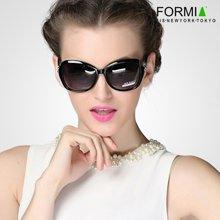 Formia芳美亚新款女士太阳镜复古时尚优雅防紫外线偏光镜墨  黑色