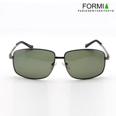 FORMIA芳美亞男偏光太陽眼鏡偏光鏡專用駕駛鏡商務男士戶外墨鏡EC6930277  黑/灰色