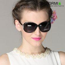 Formia芳美亚新款太阳镜优雅大气潮流时尚墨镜女款太阳镜 黑色一