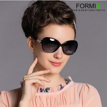 Formia芳美亞新款太陽鏡優雅大氣潮流時尚墨鏡女款太陽鏡 黑色