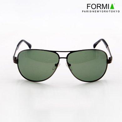Formia芳美亞男士太陽鏡潮人偏光鏡蛤蟆鏡墨鏡司機專用駕駛鏡男太陽眼鏡  灰色