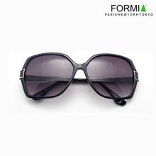 Formia芳美亞新款太陽鏡女款歐美優雅大氣百搭墨鏡時尚太陽鏡 黑色
