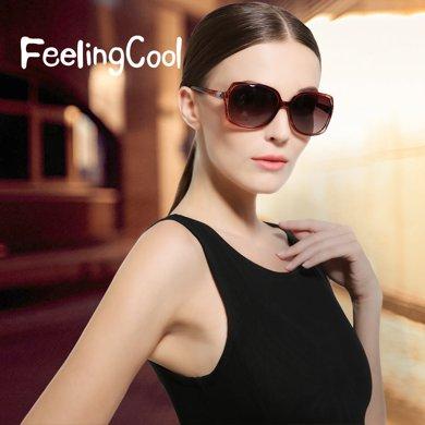 飛蘭蔻 偏光遮陽鏡時尚氣質墨鏡太陽鏡女