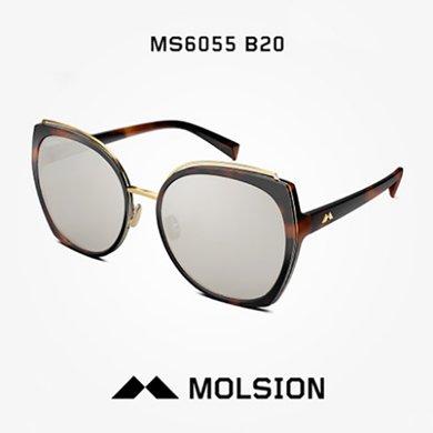 MOLSION陌森 太陽鏡女士明星同款偏光鏡墨鏡女MS6055