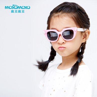 新款魔豆兒童偏光太陽鏡 防紫外線輻射樹脂鏡片遮光鏡M8113