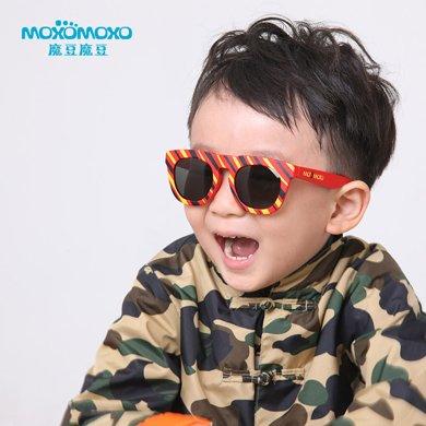 魔豆兒童太陽鏡防紫外線偏光鏡男女童個性款寶寶墨鏡M8025