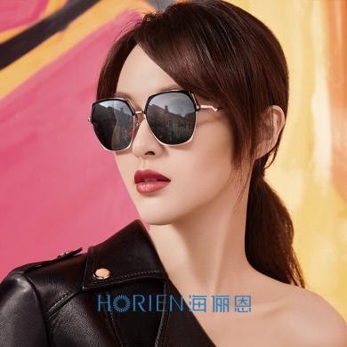 海儷恩時尚新款墨鏡女開車駕駛眼鏡韓版潮可配近視兩用太陽鏡N6717