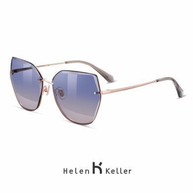 海倫凱勒2019年新款太陽鏡林志玲同款太陽鏡偏光鏡開車墨鏡H8812