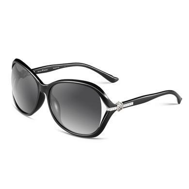 林志玲设计新款海伦凯勒偏光太阳镜女墨镜明星开车镂空大框H8312