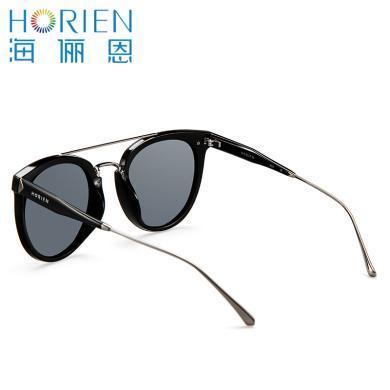 海儷恩 2017新偏光太陽鏡女潮墨鏡女圓臉太陽眼鏡女明星同款N6511