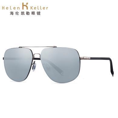 海倫凱勒男款太陽鏡 高清偏光鏡 駕駛開車司機鏡墨鏡 H8661