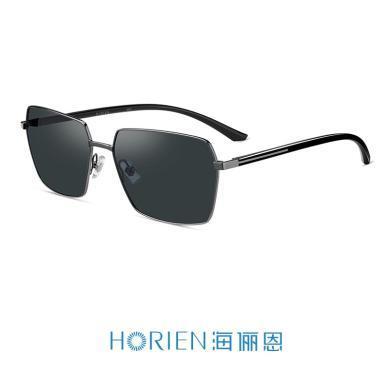 海儷恩2019年新款經典方形大框開車墨鏡男可配近視太陽眼鏡男N6761