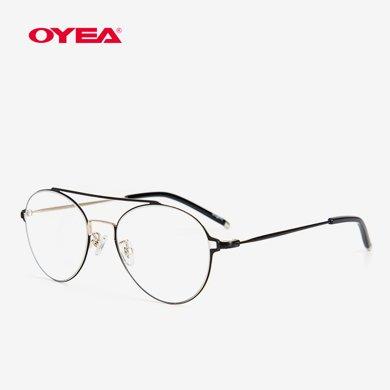 OYEA歐野眼鏡17春夏新品近視鏡套餐精致女款元気系列MF17M015
